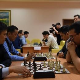 Шахматный турнир прошел в Акорде