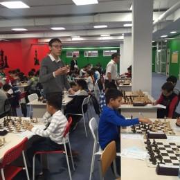 Жеребьевка 4 тура полуфинала чемпионата г. Астаны по шахматам среди детей 2008 г.р. и младше