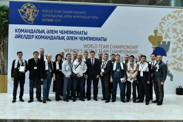 Дармен Садвакасов провел мастер-класс и сеанс одновременной игры с лучшими сотрудниками предприятий Евразийской Группы (ERG)