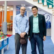 Профессор экономики Гарвардского университета посетил академию Chessdarmen