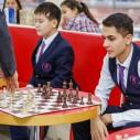 Состоялся сеанс одновременной игры в Международной школе НурОрда