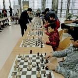 В ТЦ Керуен состоялся сеанс одновременной игры с международным гроссмейстером Нурланом Ибраевым