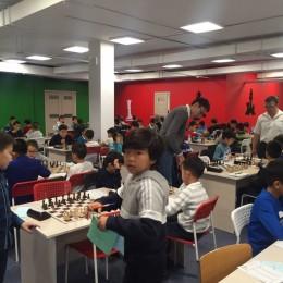 Жеребьевка 5 тура полуфинала чемпионата г. Астаны по шахматам среди детей 2008 г.р. и младше