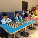 """В школе-лицее """"Nurorda""""состоялся сеанс одновременной игры с международным гроссмейстером Нурланом Ибраевым"""