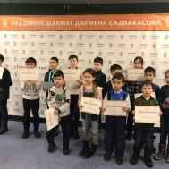В Академии шахмат Дармена Садвакасова состоялись турниры на получение 4, 3, 2 квалификационного разряда