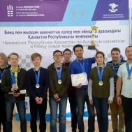 Команда Астаны – чемпион страны по быстрым шахматам