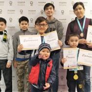 Шахматисты получили разряды