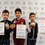 Результаты финала Чемпионата Астаны по шахматам среди детей