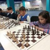 В Академии шахмат состоялся сеанс одновременной игры с Дарменом Садвакасовым