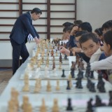 Школьник из Тараза обыграл гроссмейстера — XII Республиканский шахматный турнир на Кубок Д.Садвакасова